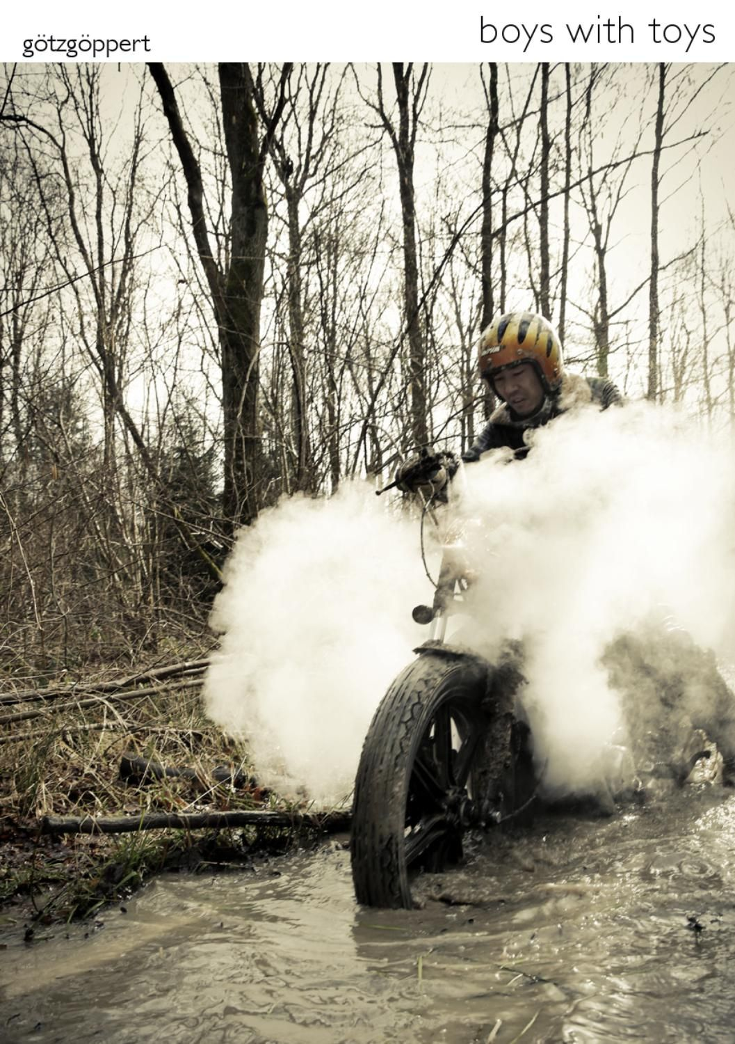 boys with toys  a mud-ride with vintage motorcycles......sankakel