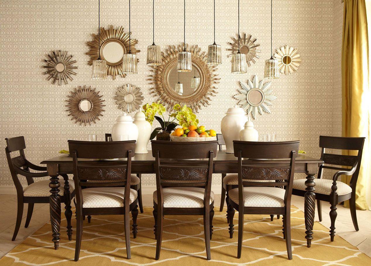 24 Silver Starburst Mirror Mirrors In 2021 Mirror Dining Room Dining Room Accents Dining Room Accent Wall
