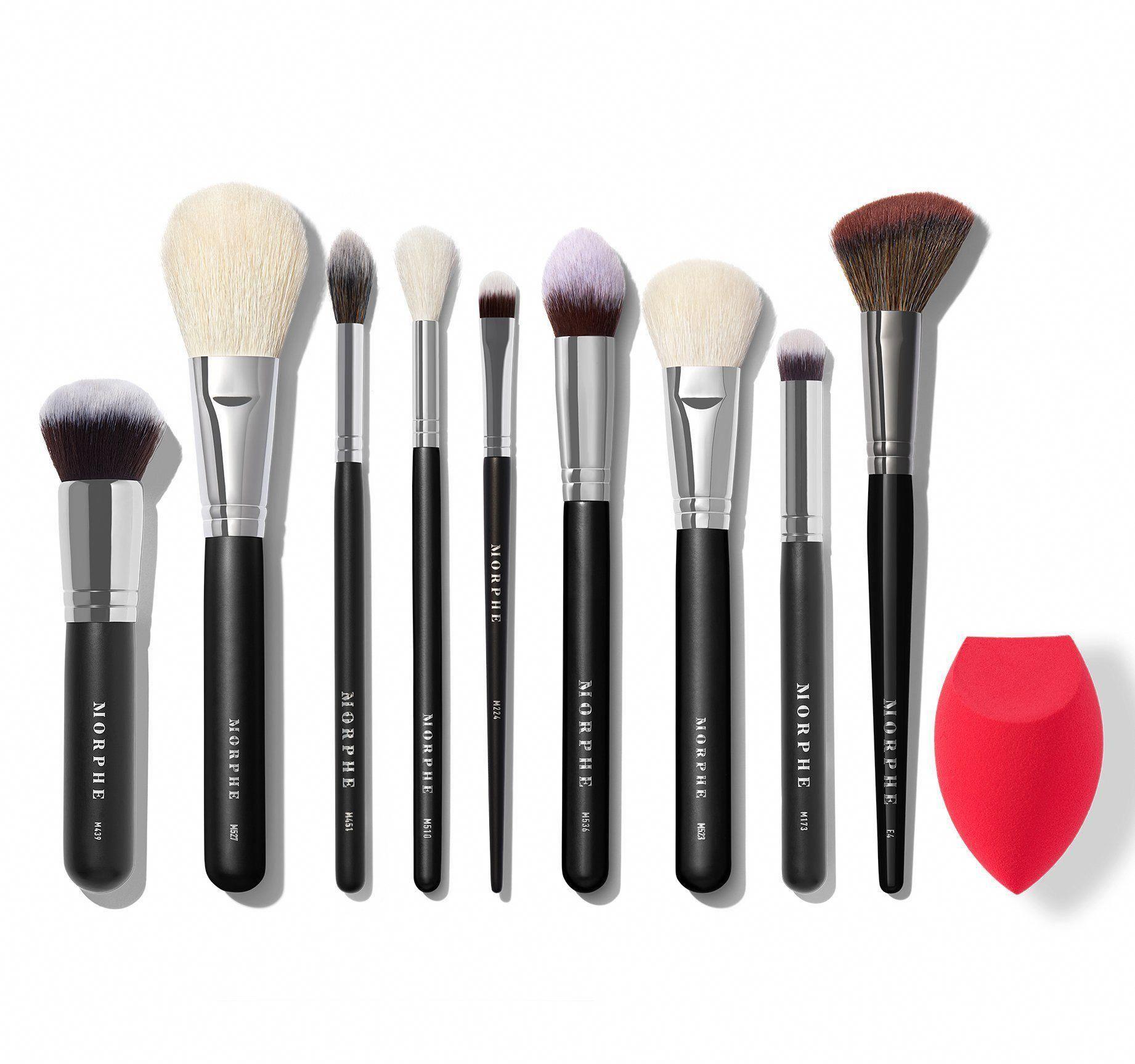Morphe Babe Faves Face Brush Set In 2020 Face Brush Set Face Brush Makeup Brushes Morphe