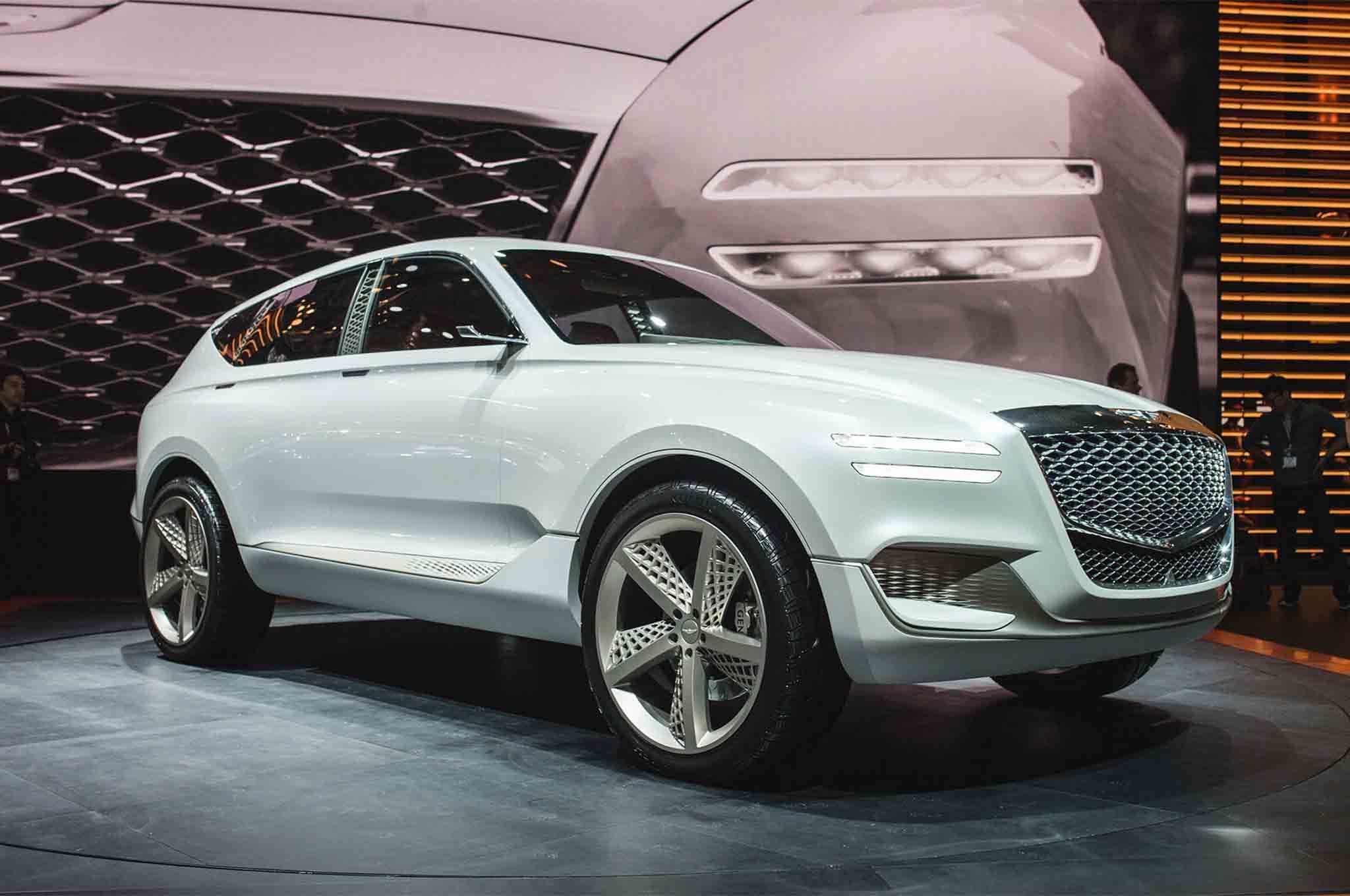 Hyundai s luxury sub brand Genesis decided to surprise the party