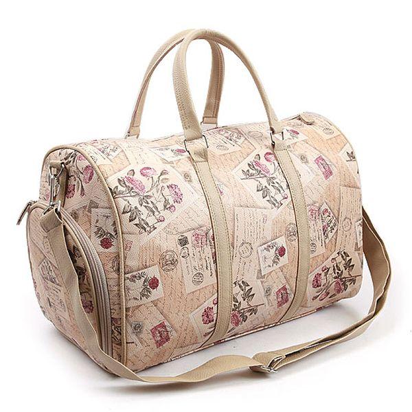 Flower bag Duffle bags stamp boston bag Mareart 8067