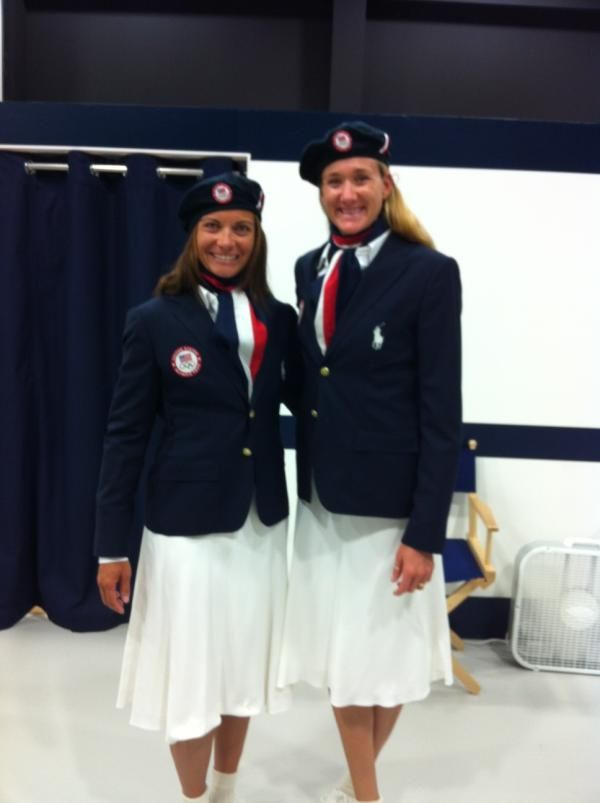 #MistyMayTreanor @Kerri Walsh Opening Ceremonies outfits ...