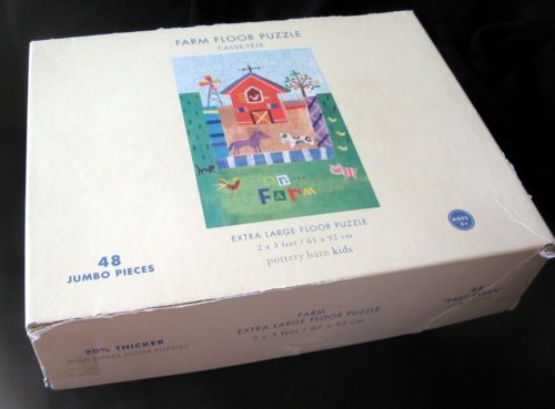 Pottery Barn Kids Extra Large Puzzle from #BienleinDesignFinds