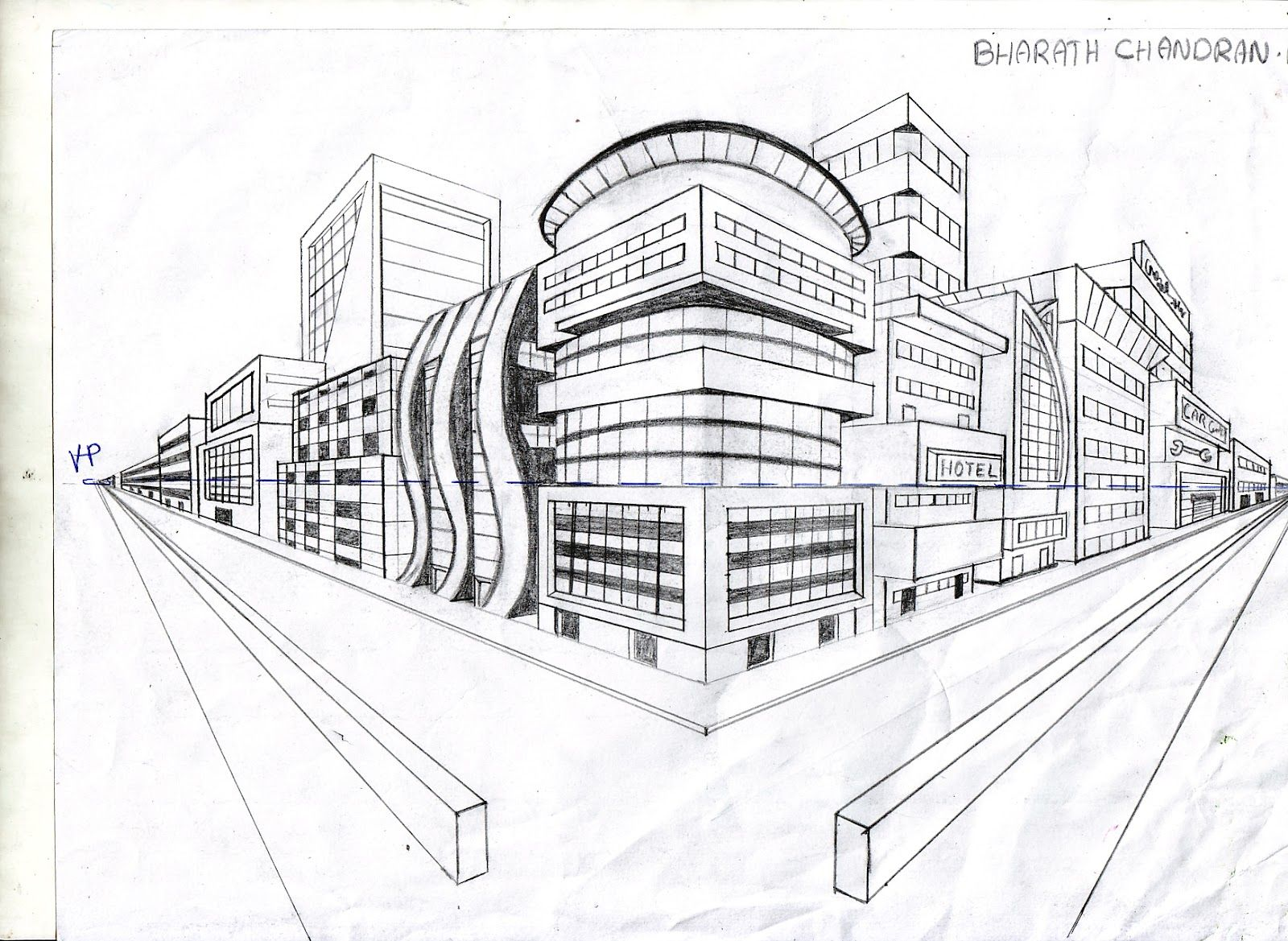 Pin by Bridget Jane on School TwoPoint Perspective