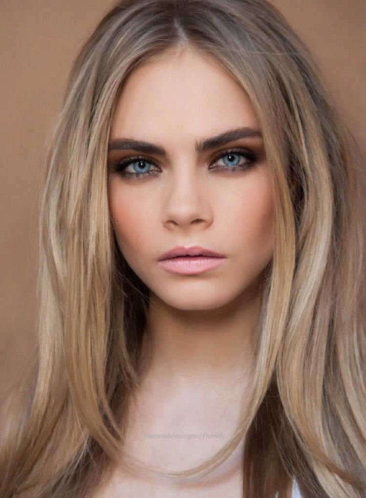 Lovely Hair Colors for Blondes with Blue Eyes