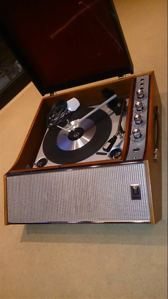 Ultra 6018 Vinyl Record Player With Bsr Deck Restored As