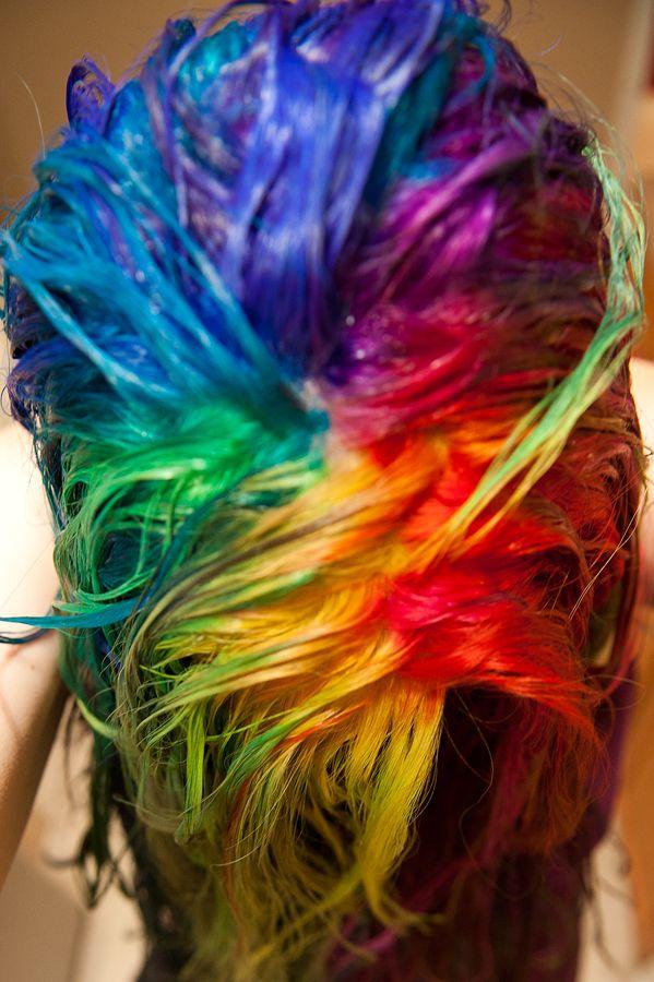 Gettin' my rainbow on.