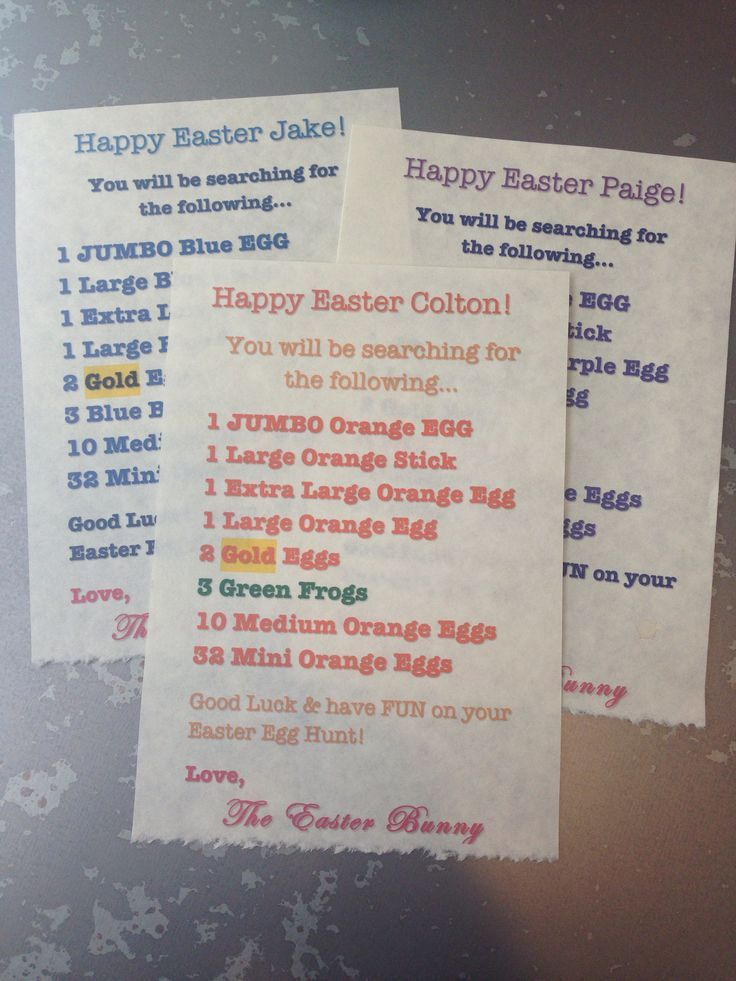 18 Easter Hacks - I love this idea of an egg scavenger hunt!