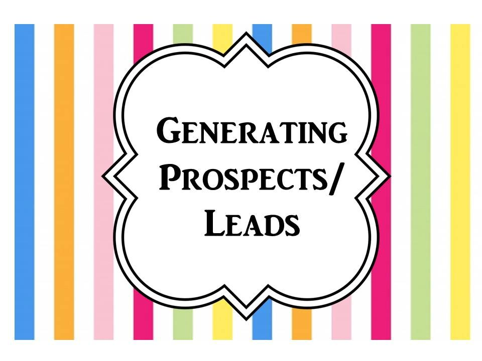 A collection of Generating Prospects/Lead pins created by Lisa Covert