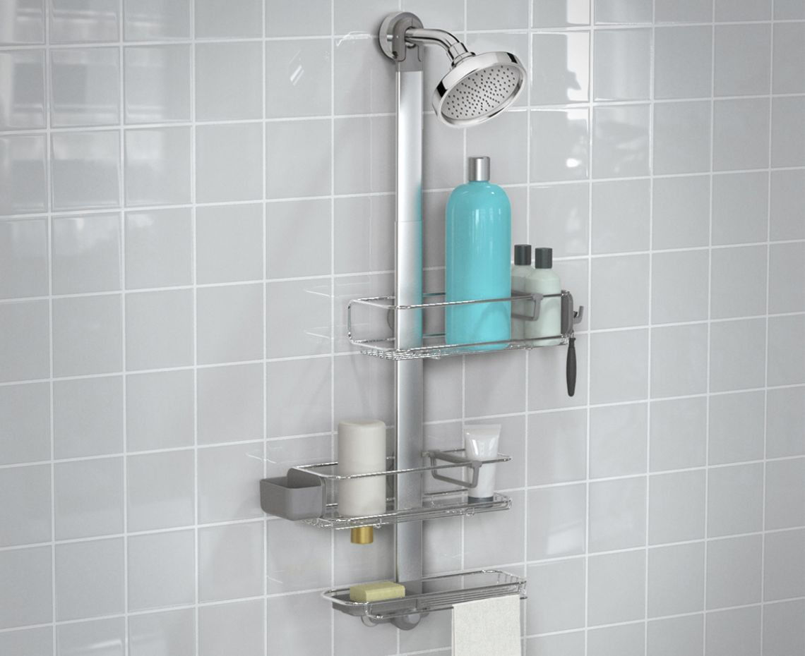 Beautiful Stainless Steel Shower organizer
