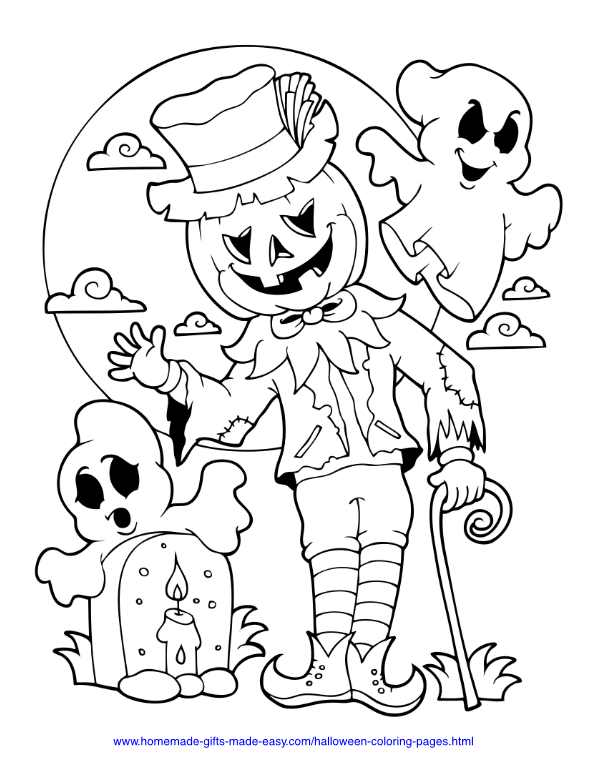 75 Halloween Coloring Pages | Free Printables | Halloween coloring book, Free halloween coloring pages, Halloween coloring sheets