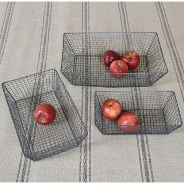 HomArt Tulle Wire Baskets – Modish Store.