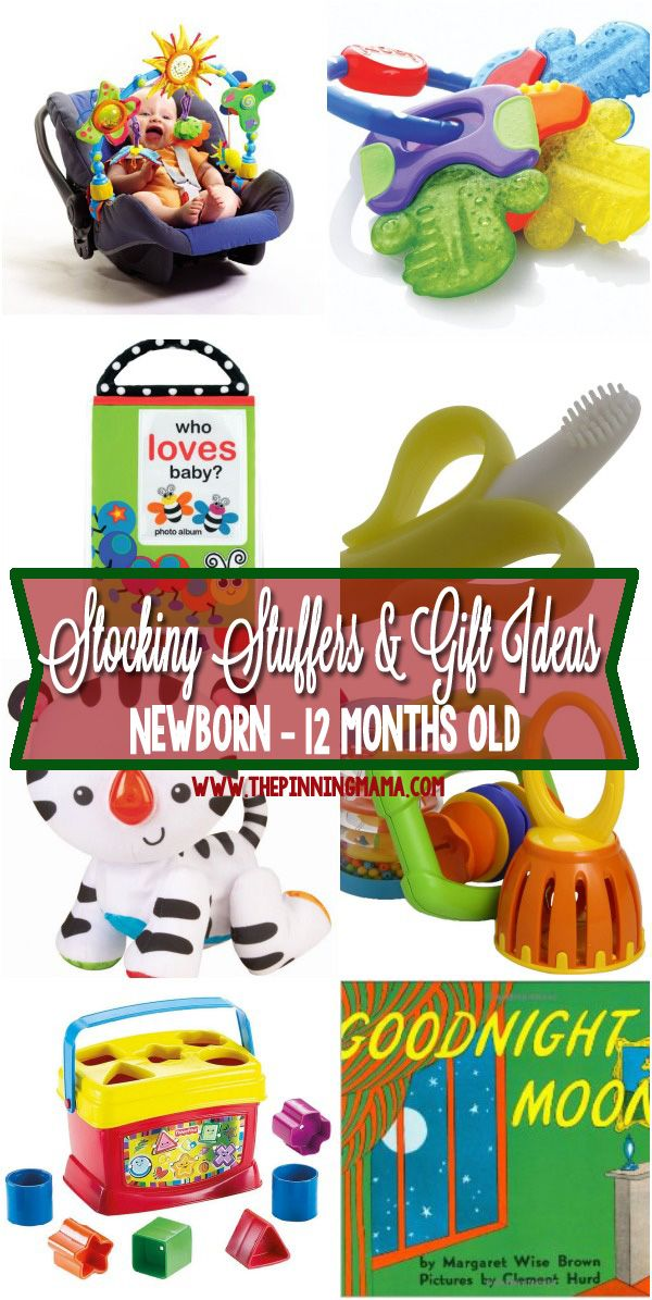 Stocking Stuffers Small Gifts For A Baby 12 Months