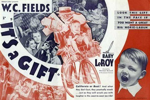 It S A Gift 1934 Funny Films Movie Posters Vintage Vintage Movies
