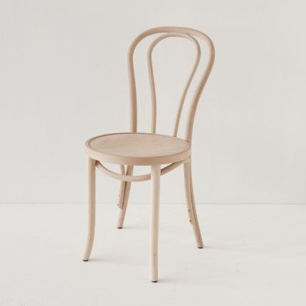 Chaise bistrot N°18 brute  peindre