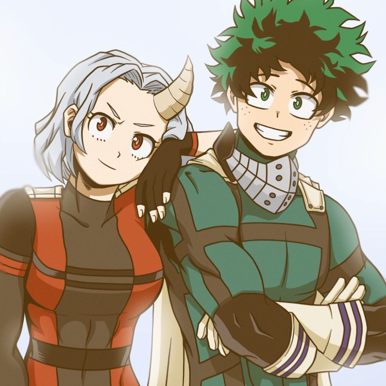 Eri And Deku All Grown Up My Hero Academia Episodes My Hero Academia Manga My Hero Academia Shouto