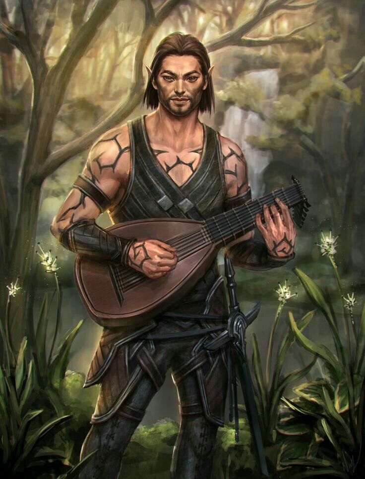 Fantasy Half Elf Female Art