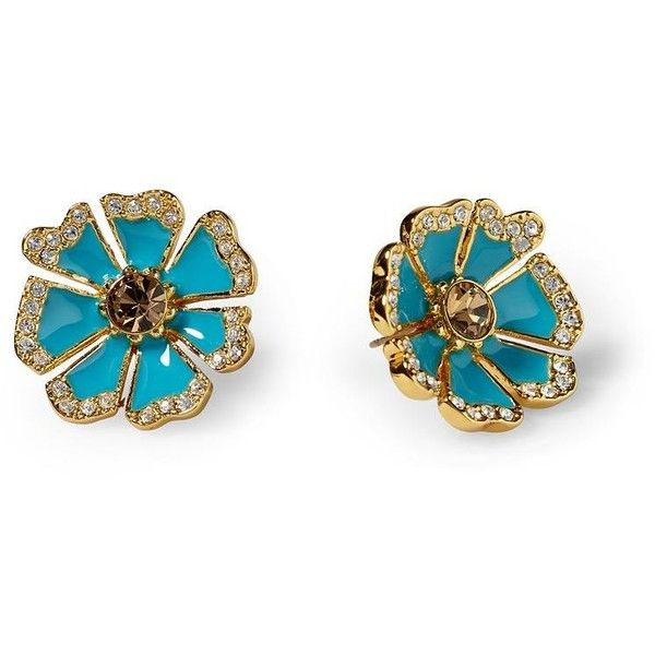 Kate Spade New York Garden Grove Large Stud Earring ($58) ❤ liked on Polyvore