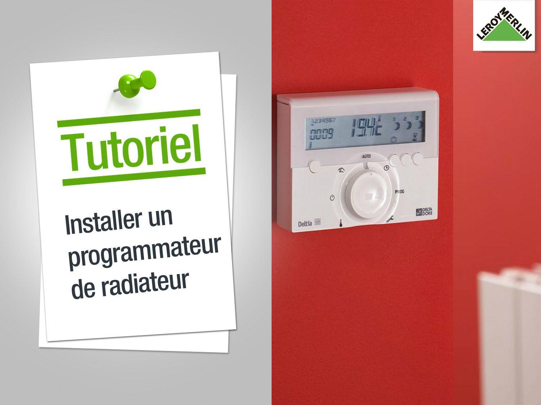 Tout Savoir Sur Les Thermostats Et Programmateurs Radiateur Radiateur Electrique Et Leroy Merlin