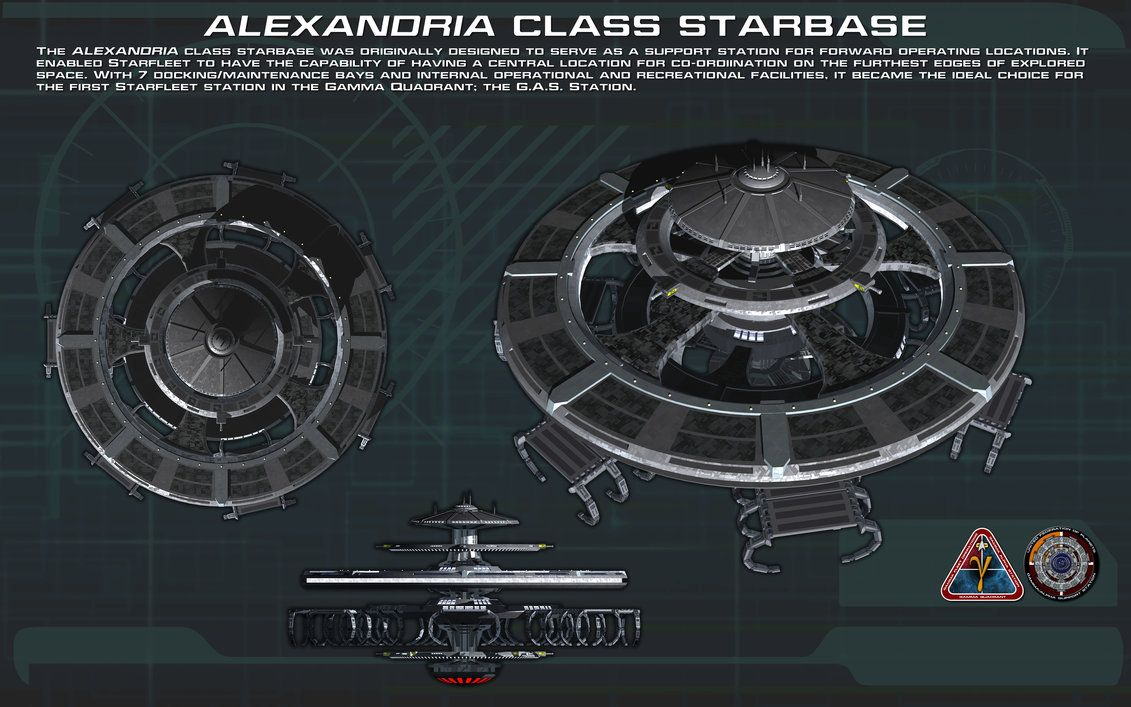 Alexandria class starbase ortho [New] by unusualsuspex on DeviantArt