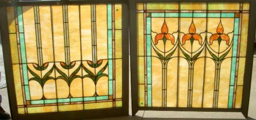 large double hung windows 6 ft impressive antique stained glass large double hung window boston estate 137 in antiques architectural garden stained glass windows eb