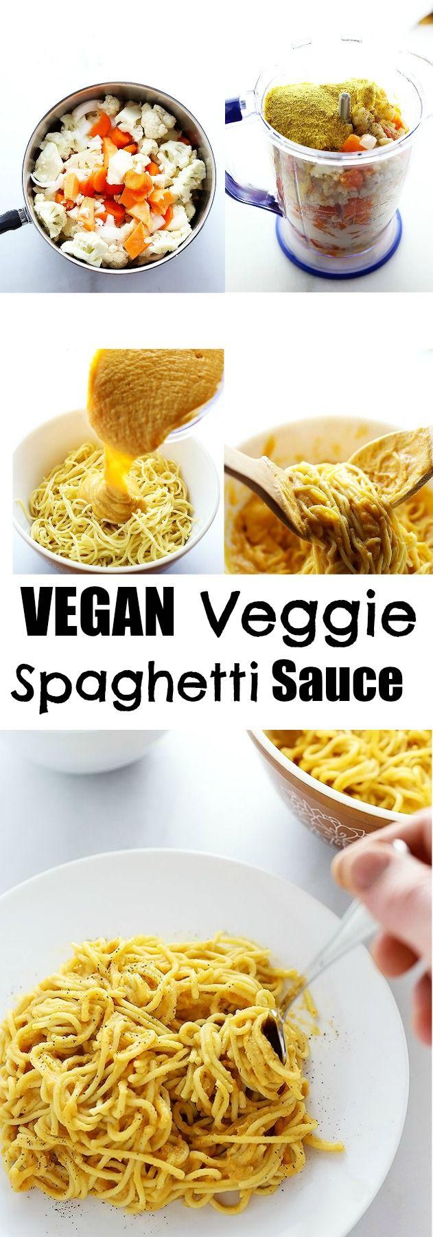 Vegan Veggie Spaghetti Sauce