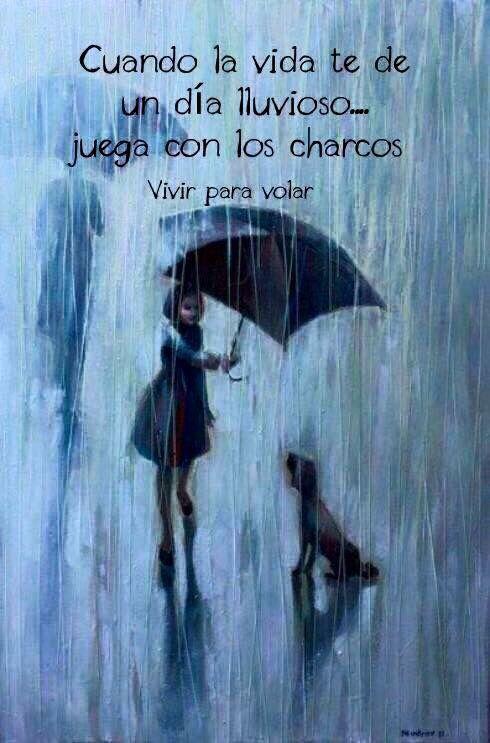 Cuando La Vida Te De Un Día Lluviosojuega Con Los Charcos