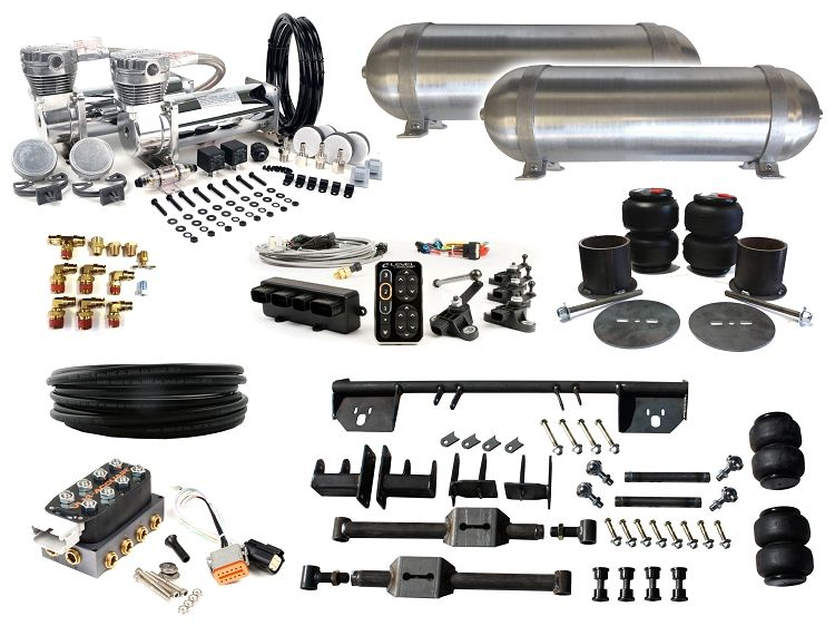 Complete FBSS Airbag Suspension Kit - 1964-1969 Lincoln Continental