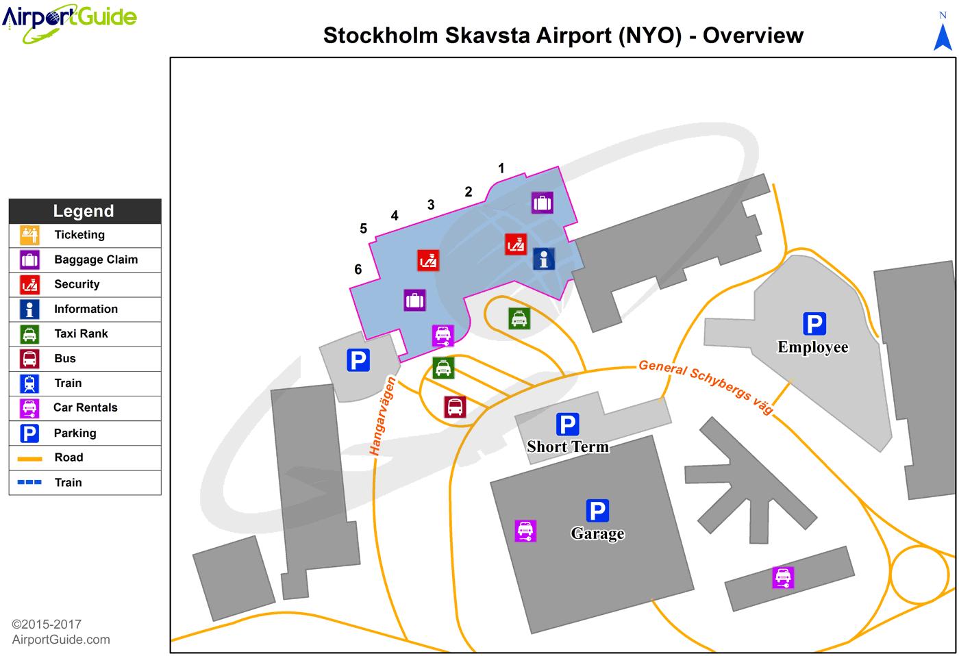 Hotel Aeroport Stockholm Skavsta