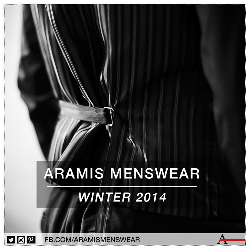 Trouxemos as tendências internacionais para o dia a dia do homem Aramis! #estiloaramis #aramismenswear #inverno2014