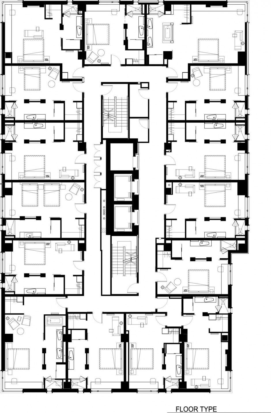 luxury hotel le germain calgary design by lemaymichaud home design