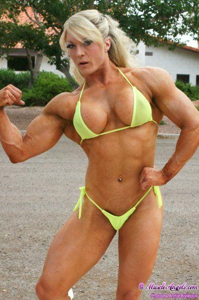 Lisa cross my favorite female bodybuilders swimwear - Lisa cross fbb ...