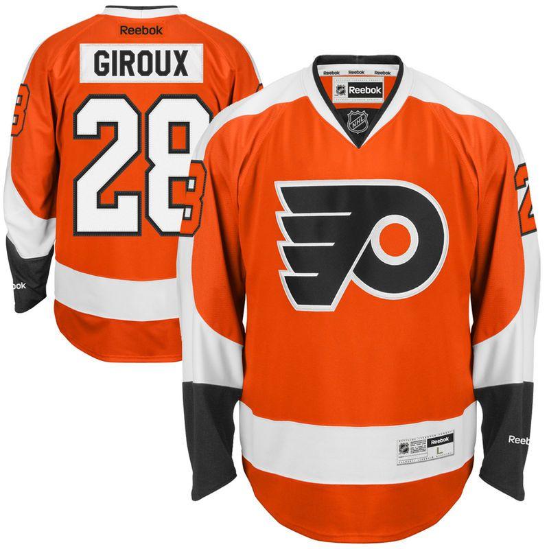 Claude Giroux Philadelphia Flyers Reebok Youth Home Premier Jersey - Orange dce633435