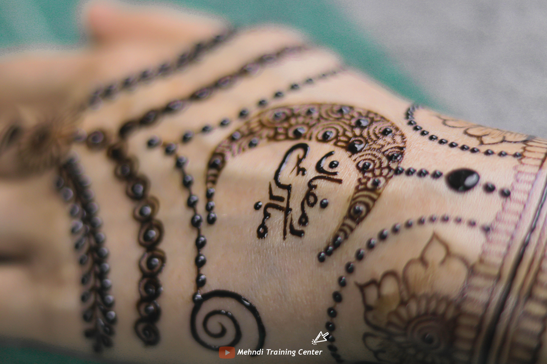 Ramadan Mubarak Beautiful Henna Design 2020 Ramadan Henna Design حن ة شهر رمضان المبارك