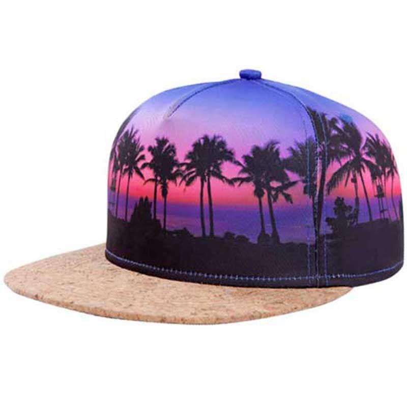 Wholesale 6pcs Best Mens Printed Snapback Hats Wood Flat Brimmed Baseball  Caps for Women Flatbill Adjustable