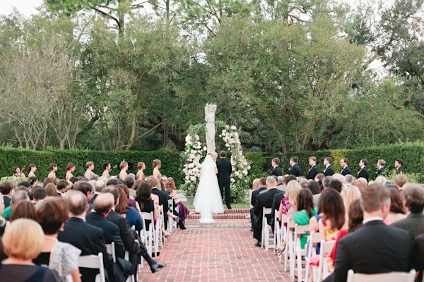New Orleans Botanical Garden Ceremony | Magnolia Pair #wedding