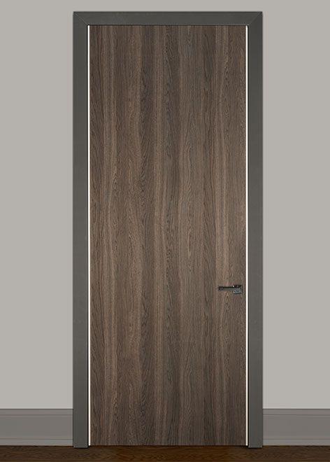Modern Newmann Solid Wood Front Entry Door Single Dbim Hg Also Rh Pinterest