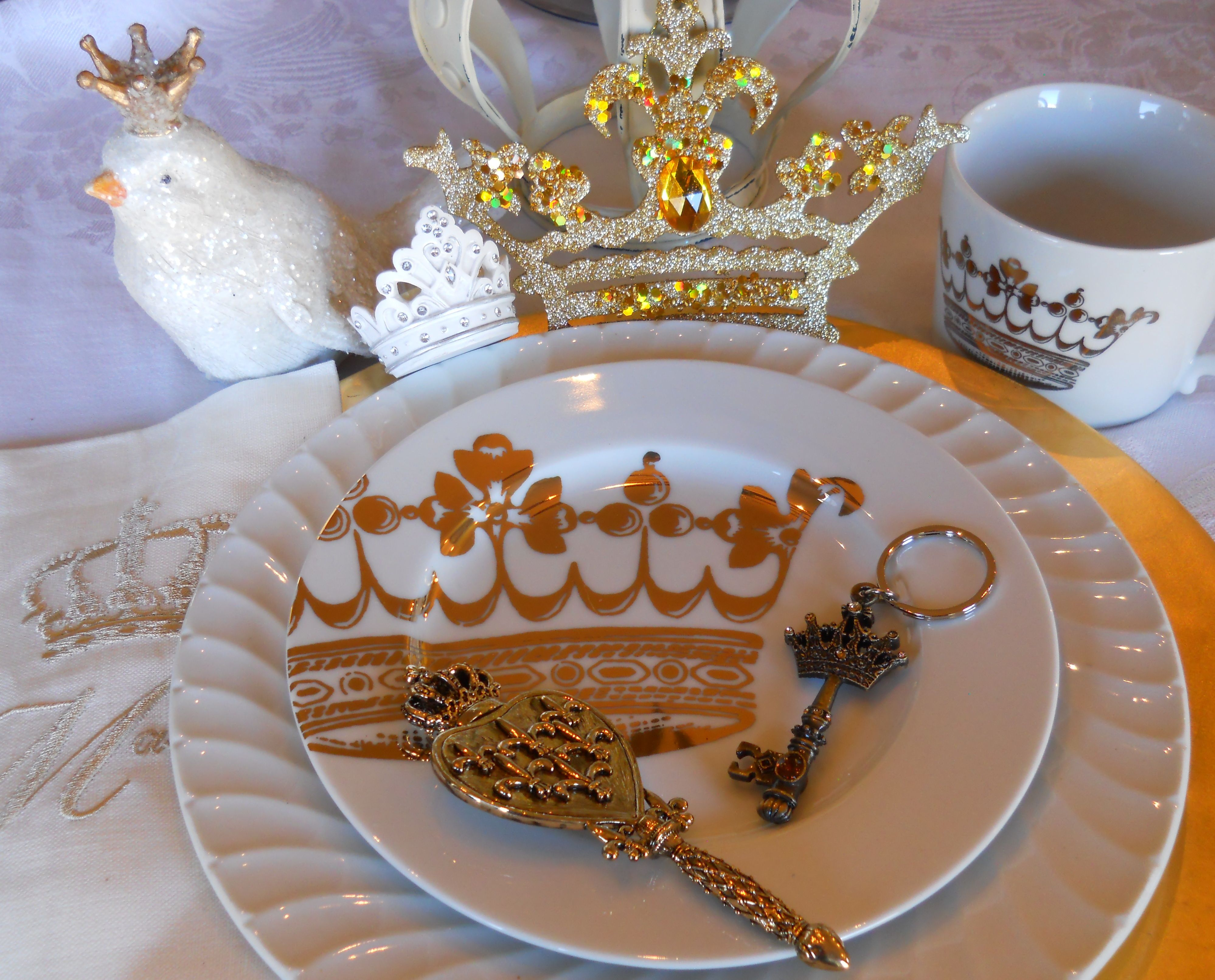Crown gifts jewelry accessories pageant party favor