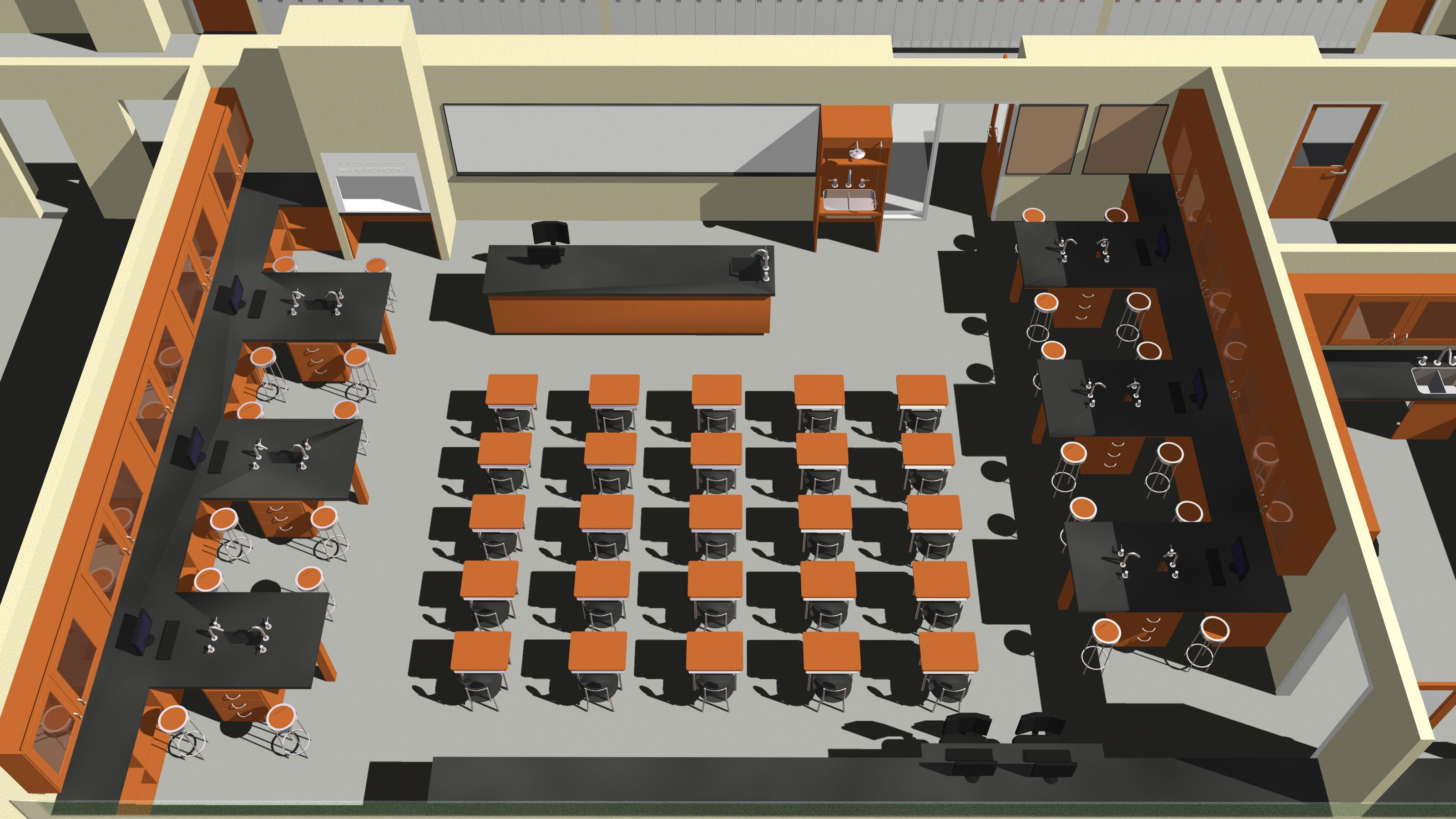 Classroom Layouts For Middle School : High science lab room design google search