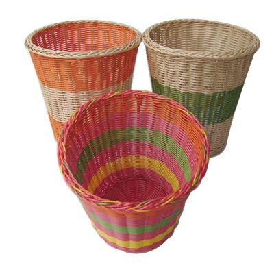 waste paper basket kosárfonás papírból és papírfonás pinterest