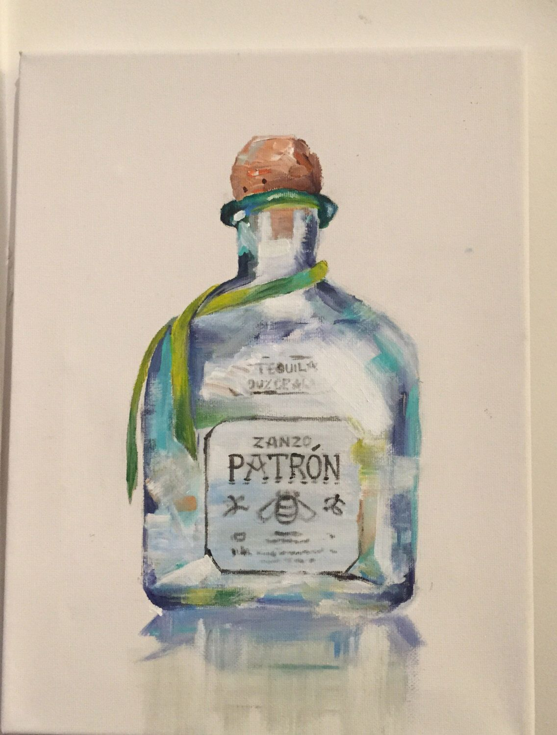 Image By Brittney Castaneda On Paintings Tequila Bottles
