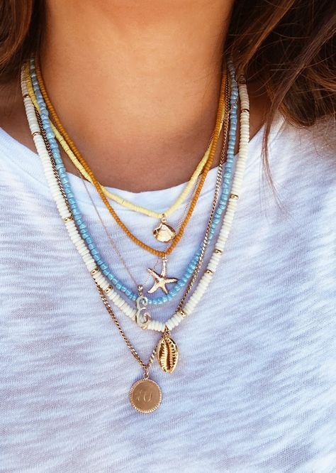 Photo of DIY Beaded Shell Necklaces – Honestly WTF