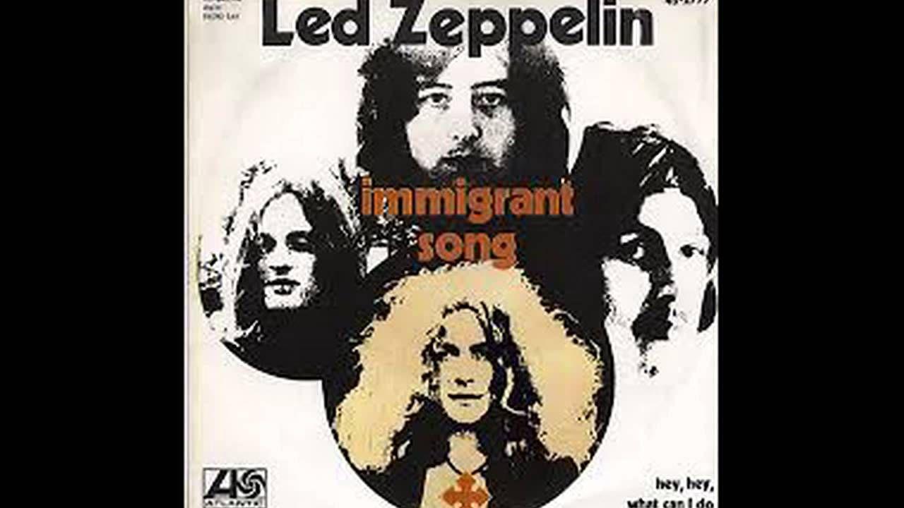 Led Zeppelin Immigrant Song Lyrics In Description Greatest