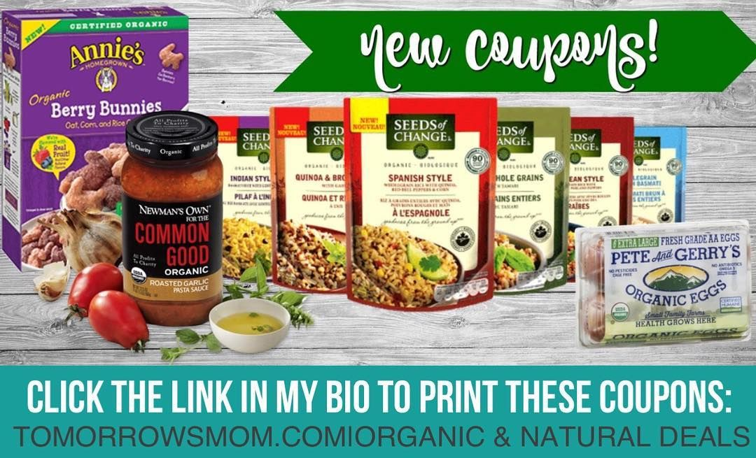 all these new coupons means lots of food deals on grocery shelf items to print them