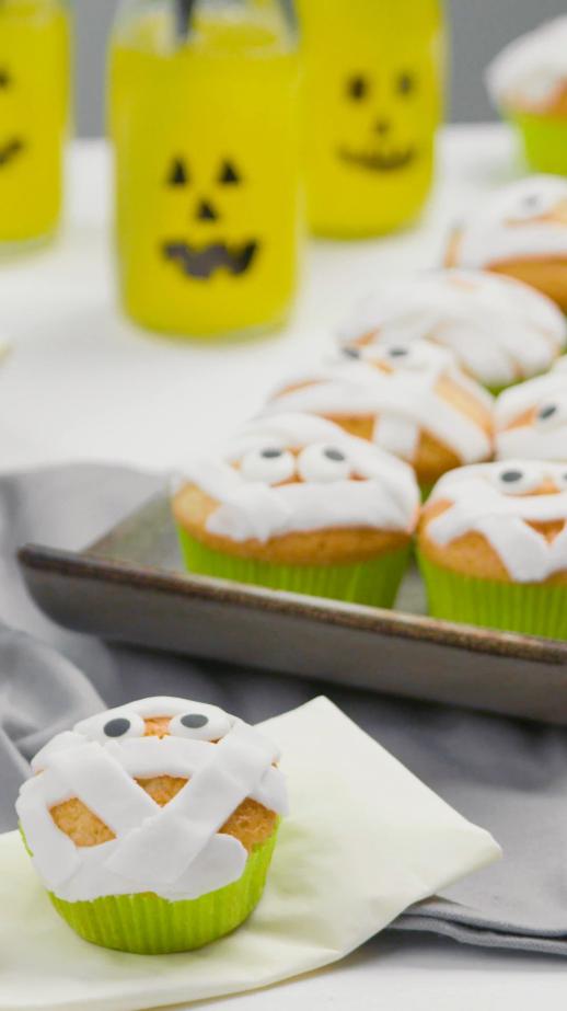 Rezeptvideo: Mumien-Muffins