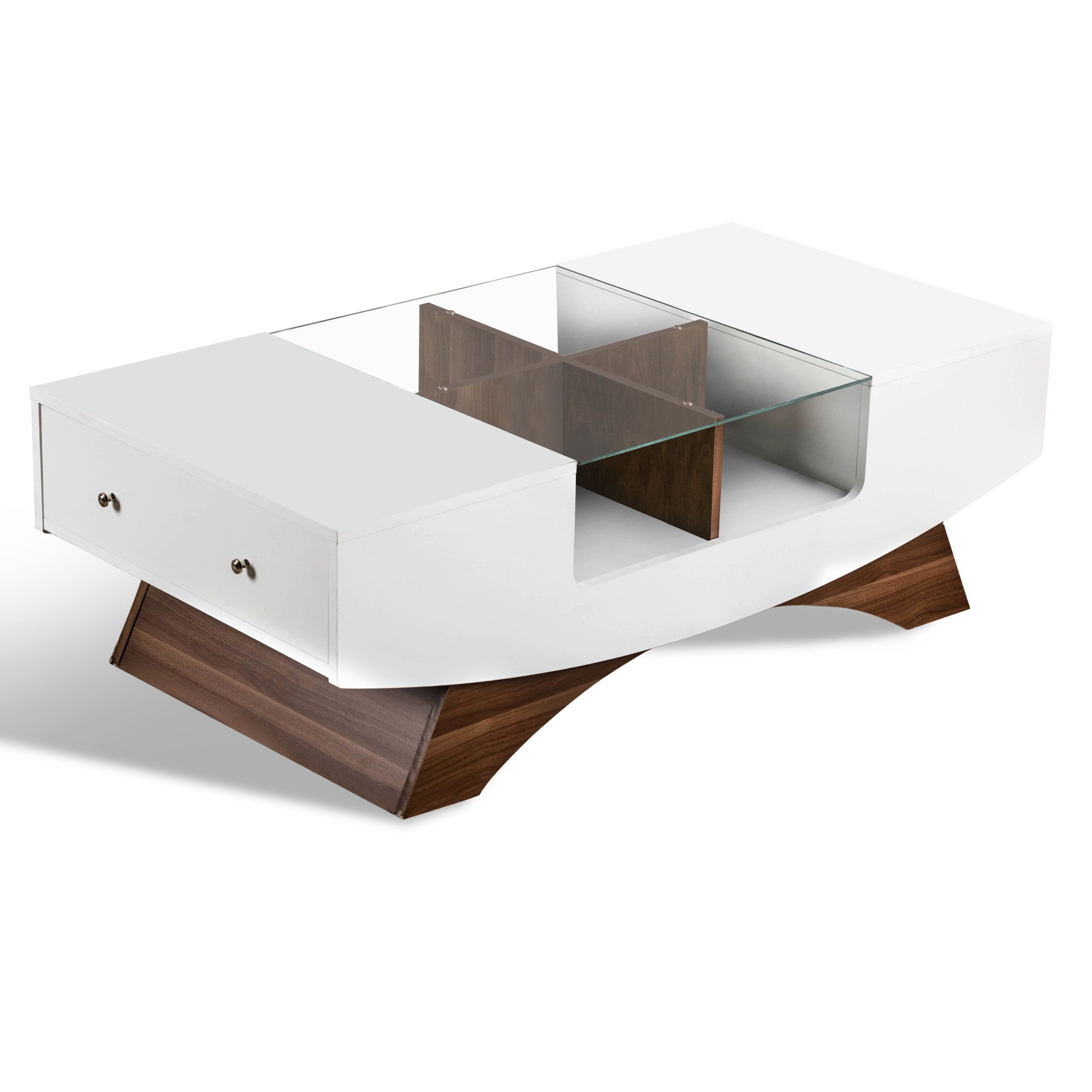 Wade Logan Madilynn Trestle Coffee Table With Storage Coffee Table Coffee Table With Storage Coffee Table Rectangle [ 2870 x 2870 Pixel ]