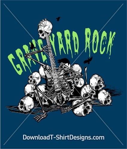 Like this Design? Download Now at: http://downloadt-shirtdesigns.com/all-designs/downloadt-shirtdesigns-com-2121130.html #graveyard #guitar #skull #skeleton #halloween #doenload #print #design #tshirt #tee