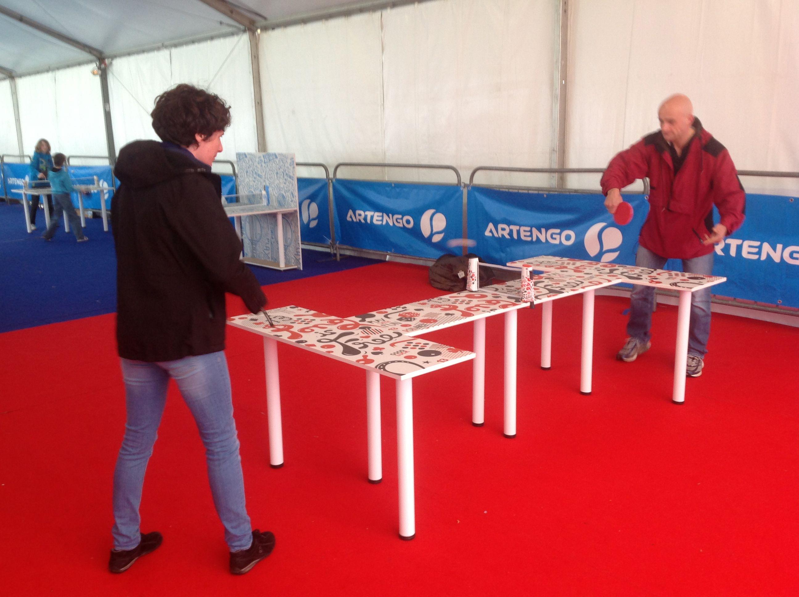 mondial ping tour - artengo free ping pong | mondial ping tour