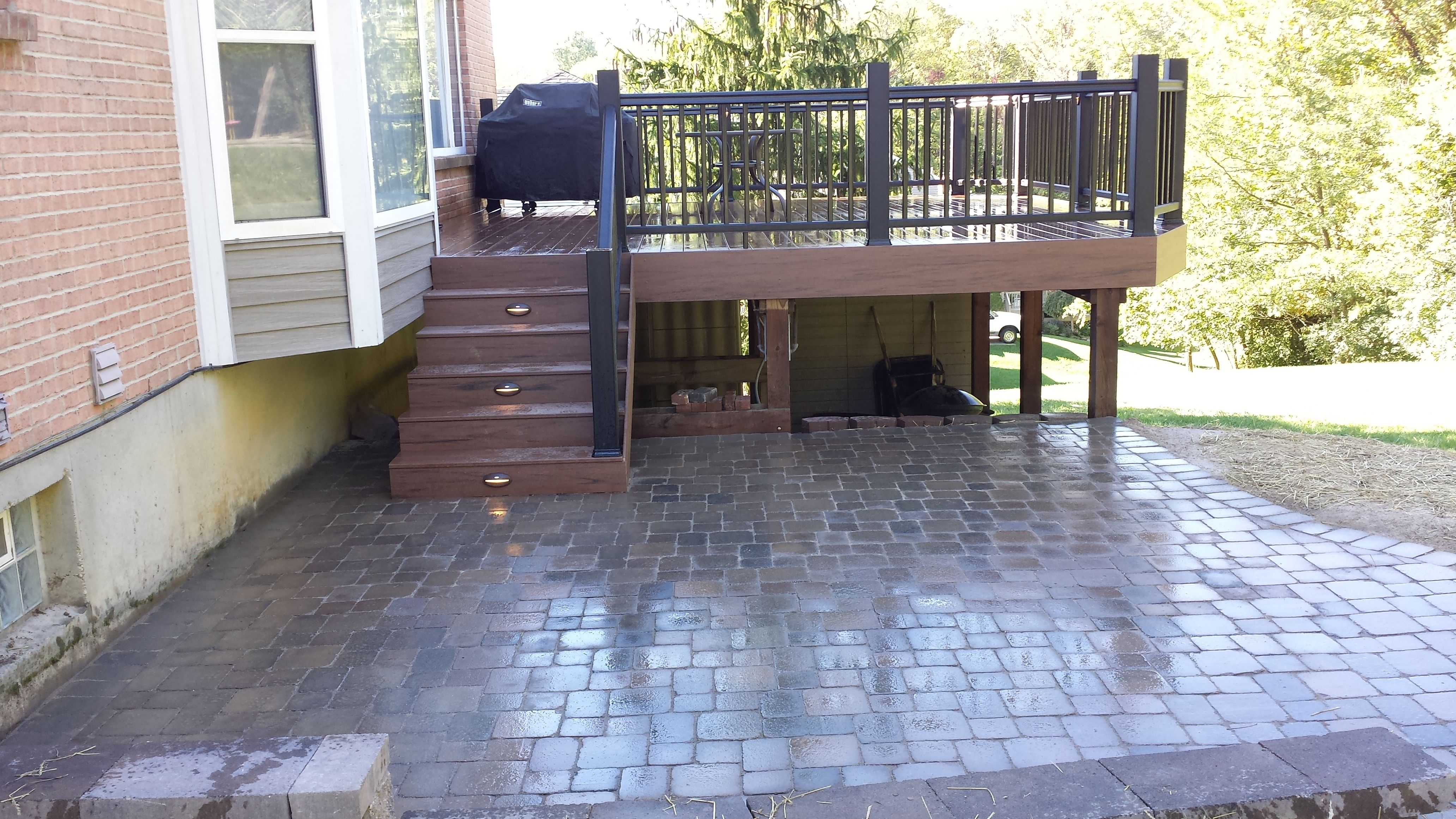 Deck and Patio combo  Our Work in 2019  Patio images