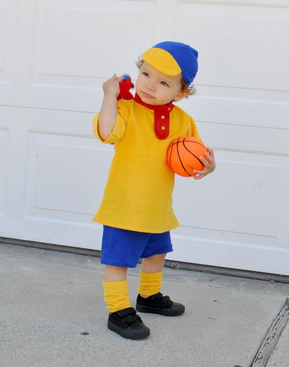 caillou inspired costume boys kids children infant toddler babies ...
